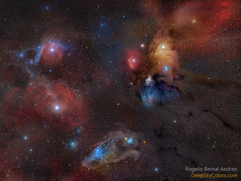 Clouds of Orion